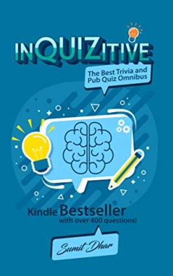 Cover image of the product InQUIZitive: The Best Trivia Quiz & Pub Quiz Omnibus by Sumit Dhar