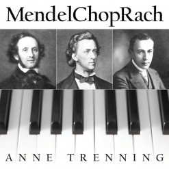 Cover image of the songbook MendelChopRach sheet music (single) by Anne Trenning