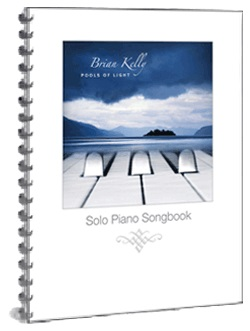 Cover image of the songbook Pools of Light by Brian Kelly