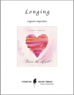 Cover image of the songbook Longing sheet music by Carol Comune