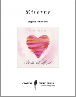 Cover image of the songbook Ritorno sheet music by Carol Comune