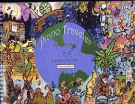 Cover image of the songbook Piano Traveler, Songbook 1 by Carolyn Downie