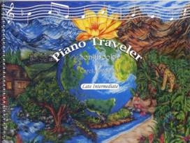 Cover image of the songbook Piano Traveler, Songbook 2 by Carolyn Downie