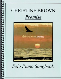 Cover image of the songbook Promise by Christine Brown