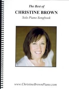 Cover image of the songbook The Best of Christine Brown by The Wishing Well