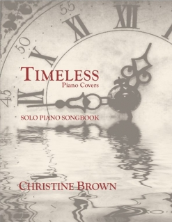 Cover image of the songbook Timeless by Christine Brown