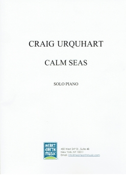 Cover image of the songbook Calm Seas by Craig Urquhart