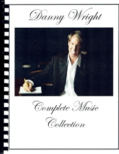 Cover image of the songbook Complete Music Collection by Danny Wright