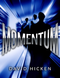 Cover image of the songbook Momentum by David Hicken