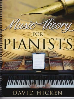Cover image of the songbook Music Theory for Pianists by The Ultimate Piano Workout