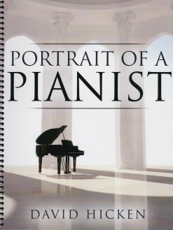 Cover image of the songbook Portrait of a Pianist by David Hicken