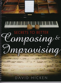 Cover image of the songbook Secrets To Better Composing & Improvising by The Ultimate Piano Workout