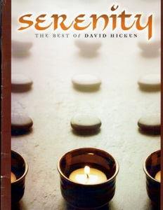 Cover image of the songbook Serenity by David Hicken