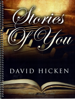 Cover image of the songbook Stories of You by David Hicken