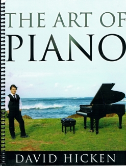 Cover image of the songbook The Art of Piano by David Hicken