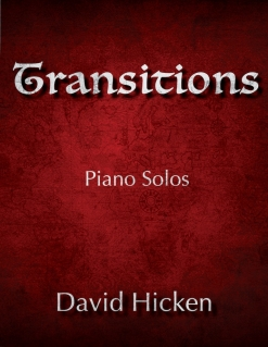 Cover image of the songbook Transitions by David Hicken