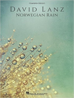Cover image of the songbook Norwegian Rain by David Lanz