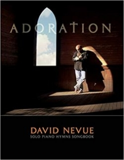Cover image of the songbook Adoration by David Nevue