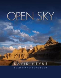 Cover image of the songbook Open Sky by David Nevue