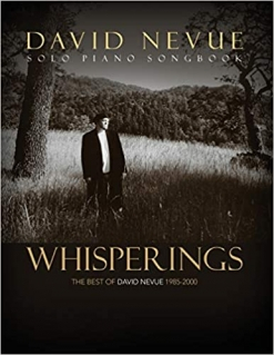 Cover image of the songbook Whisperings (2019 revision) by David Nevue