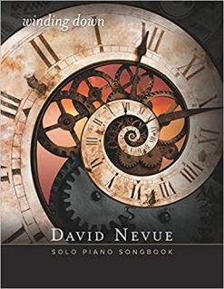 Cover image of the songbook Winding Down by David Nevue