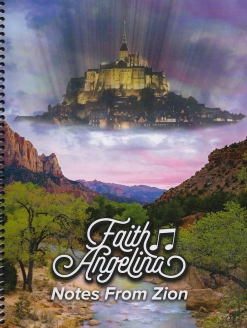 Cover image of the songbook Notes From Zion by Faith Angelina