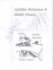 Cover image of the songbook Golden Autumn 4 by Fariborz Lachini