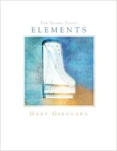 Cover image of the songbook The Naked Piano: Elements by Gary Girouard