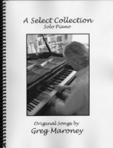 Cover image of the songbook A Select Collection by Greg Maroney