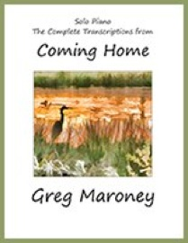 Cover image of the songbook Coming Home by Greg Maroney