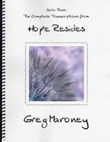 Cover image of the songbook Hope Resides by Greg Maroney