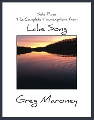 Cover image of the songbook Lake Song by Greg Maroney