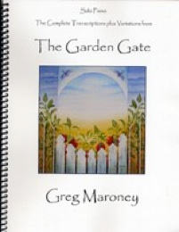 Cover image of the songbook The Garden Gate by Greg Maroney