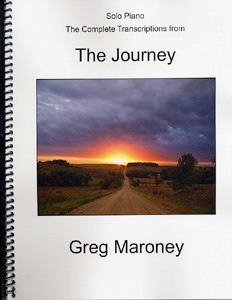 Cover image of the songbook The Journey by Greg Maroney