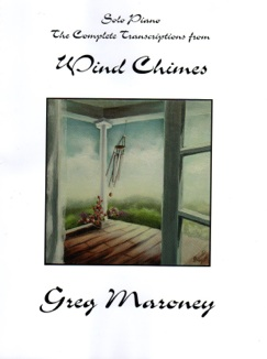 Cover image of the songbook Wind Chimes by Greg Maroney