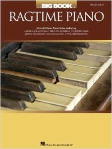 Cover image of the songbook The Big Book of Ragtime Piano by Hal Leonard