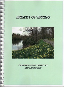 Cover image of the songbook Breath of Spring by Iris Litchfield