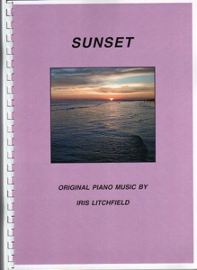 Cover image of the songbook Sunset by Iris Litchfield