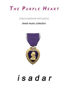 Cover image of the songbook The Purple Heart by Isadar