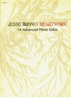 Cover image of the songbook Heartwork by Jesse Brown