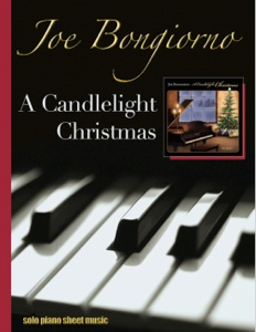 Cover image of the songbook A Candlelight Christmas by Joe Bongiorno