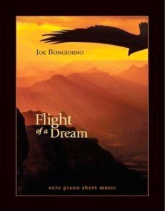 Cover image of the songbook Flight of a Dream by Joe Bongiorno