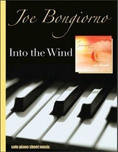 Cover image of the songbook Into the Wind by Joe Bongiorno