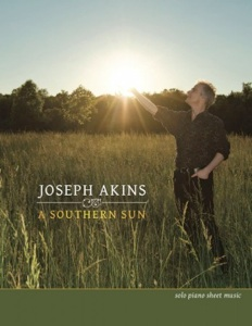 Cover image of the songbook A Southern Sun by Joseph Akins