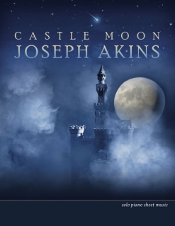 Cover image of the songbook Castle Moon by Joseph Akins