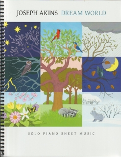Cover image of the songbook Dream World by Joseph Akins