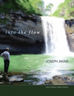 Cover image of the songbook Into the Flow by Joseph Akins