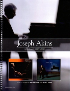 Cover image of the songbook Selections from Masterpeace and Spirit Touch, Second Edition by Joseph Akins