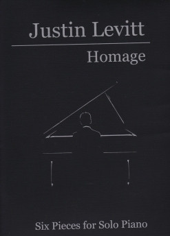 Cover image of the songbook Homage by Justin Levitt