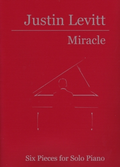 Cover image of the songbook Miracle by Justin Levitt